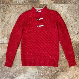 Boy's Cat & Jack Red Knit Sweater Size M (8/10)